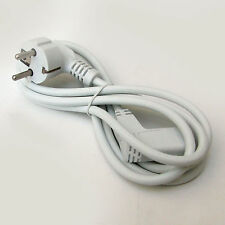 SCHUKO type CONTINENTAL MAINS LEAD with IEC ANGLED C13 SOCKET 1.9M 230V  .75mm