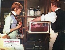 PETER CUSHING FRANKENSTEIN MUST BE DESTROYED HAMMER 1969 VINTAGE LOBBY CARD #9