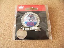 2015 Chicago Cubs NLCS I Was There pin National League Championship Series MLB