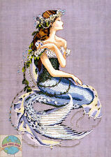 Cross Stitch Chart / Pattern ~ Mirabilia Enchanted Mermaid #MD84