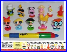SET 11 Figure CARTOON NETWORK Original COURAGE COWARDLY DOG POWERPUFF Figures
