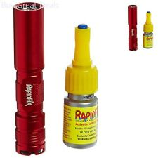 RapidFix UV Liquid Plastic Adhesive Starter Kit Rapid Fix Light Glue - New