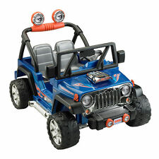 Fisher-Price Hot Wheels Jeep Wrangler Ride On 12 Volts NEW FREE SHIPPING OFFER