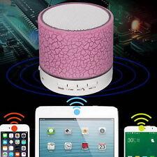 Mini Bluetooth Speakers Wireless Speaker With USB Mic Blutooth Pink(aa2