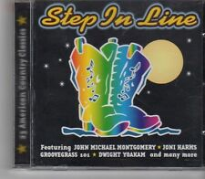 (FX932) Step In Line, 23 American Country Classics - 2000 CD