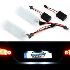 2x LED License Number Plate Lights For Vauxhall Opel Corsa C D Astra H J Vectra