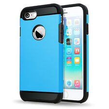 For IPhone 7 Slim Hybrid Hard Armour Tough Shockproof Cover Case, New 14 Colors