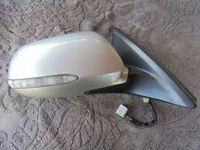 03 - 07 Honda Accord O/S Right Heated Wing Mirror Silver NH623M CM CN CL