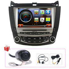 "US Koolertron 8"" Autoradio GPS Navigation Headunit Stereo DVD For Honda Accord"