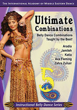 Ultimate Combos 5 - How to Belly Dance DVD Video - Bellydance