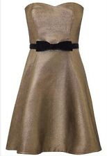 BNWT��Coast ��Size 16 Melanie Metallic Short Dress Wedding Bridesmaid Cruise New