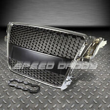 AUDI A5 TYP 8T RS CHROME ABS FRONT BUMPER FRAME GRILL/GRILLE COVER REPLACEMENT
