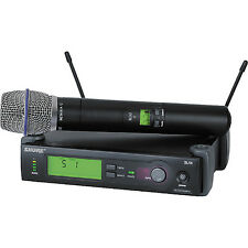 Shure SLX24/BETA87A SLX Wireless Handheld Microphone System