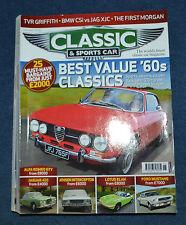 Classic & Sportscar June 2009 TVR Griffith, Lancia Astura, BMW CSi, Daimler XJC