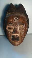 old African mask. ancien Masque africain PUNU 1940-1960