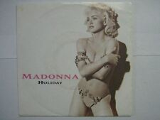 MADONNA 45 TOURS GERMANY HOLIDAY