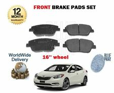 FOR KIA OPTIMA 1.7DT CRDi  D4FD 2011-- NEW FRONT BRAKE DISC PADS FOR 16'' WHEELS