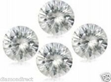 0.218 cts total lot x 4  G-H-I natural  loose round white  diamonds 2.30-2.40mm