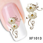 Fashion Polish Nail Art Decals Adhesive Manicure Stickers Foils Wraps CA12