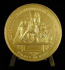 Médaille BRUXELLES 1880 exposition internationale palais du midi Belgique medal