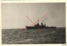 13781/ Originalfoto 6,5x9,5cm Deutsches Minensuchboot, ca. 1943