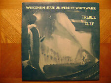 SOUND STUDIO LP RECORD/WISCONSIN STATE WHITEWATER TREBLE CLEF/ROBERT PARTRIDGE/