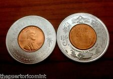 2012 COMMONWEALTH of PUERTO RICO Encased Anillado RINCON GUEST HOUSE Lucky Penny