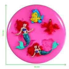 Disney Little Mermaid Silicone Mould by Fairie Blessings