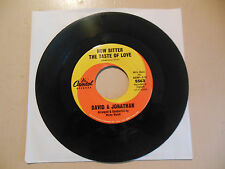DAVID & JONATHAN How Bitter The Taste Of Love / Michelle  CAPITOL RECORD NEW 45