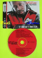CD Singolo WYCLEF JEAN ft THE ROCK It doesn't matter 2000 Austria  mc dvd (S11*)