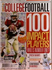 2014 COLLEGE FOOTBALL Magazine 100 IMPACT PLAYERS Top Players $8