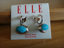 ELLE JEWELRY- STERLING SILVER - BRAND NEW -  EARRINGS