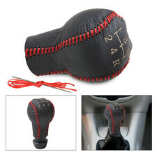 Genuine Leather 5-Speed Gear Shift Knob Cover Fits Peugeot 106 206 306 307 308