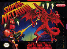 Super Metroid SNES Great Condition Fast Shipping
