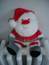 MOTHERCARE SANTA CLAUS FATHER CHRISTMAS SOFT TOY APPROX 11""