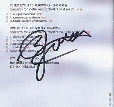 ILYA GRINGOLTS Tchaikovsky Shostakovich: Violin DGG CD SIGNED AUTOGRAPHED !!