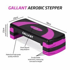 Aerobic Stepper 3 X Adjustable Fitness Step Board Exercise Gym Home Yoga Block