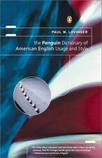 The Penguin Dictionary of American English Usage and Style : A Readable...