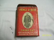Empty PRINCE ALBERT Crimp Cut Pipe & Cigarette Tobacco TIN