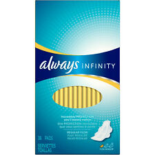 Always Infinity Pads with Flexi-Wings Unscented Maxi Regular Flow 36 ct