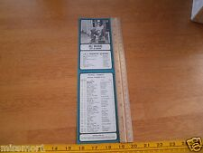 93 KHJ radio BOSS 30 songs flyer 1971 Bill Withers Rod Stewart Undisputed T 325