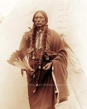 COMANCHE CHIEF QUANAH PARKER VINTAGE PHOTO NATIVE AMERICAN INDIAN 1892  #20923