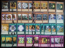 YuGiOh Heroic Deck 42 Cards Excalibur Ultra Empowered Warrior Noble Arms