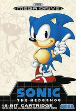 Framed Print - Sonic The Hedgehog SEGA Mega Drive (Picture Master System Game)