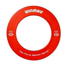 RED WINMAU HEAVY DUTY FOAM DARTBOARD SURROUND WALL PROTECTOR DARTS RING BDO