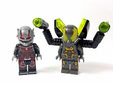 Marvel Custom Minifigure ANTMAN & YELLOW JACKET & free LEGO brick UK