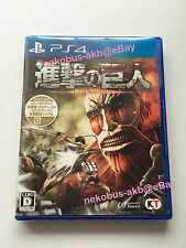 [New] Attack on Titan [shingeki no kyojin] - PS4 [Japan Import] [PlayStation 4]