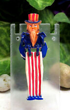"Vintage SUPER RARE WW2 Uncle Sam Articulated Celluloid ""Buddy"" Pin Brooch"