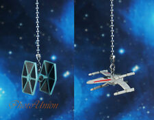 Star Wars Tie Fighter vs X Wing Ceiling Fan Pull Light Lamp Chain Decoration AB