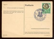 BUND 1951 141 MESSEKARTE+SST(N6490a